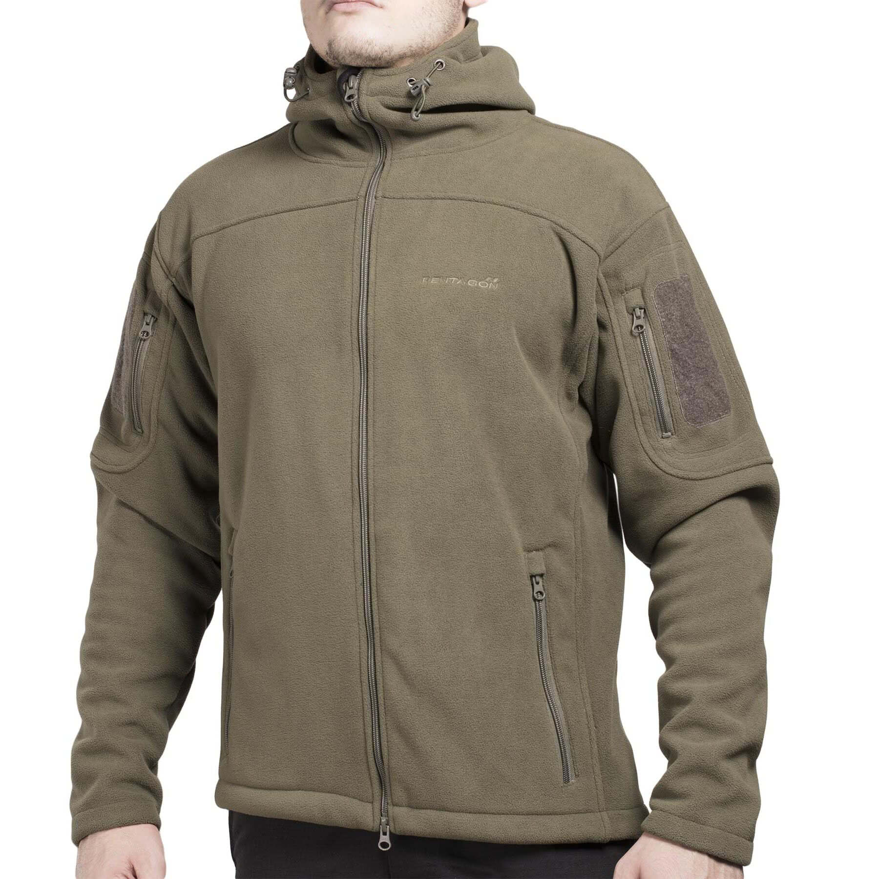 Куртка флисовая PENTAGON с капюшоном Hercules Fleece Jacket 2.0
